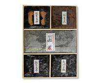 【X-100】松茸昆布/永楽/椎の里/松茸煮/角切山椒