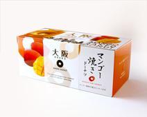 【季節限定商品】大阪マンゴー焼きドーナツ 6個入り