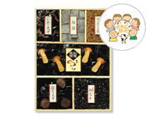 【F-50】福禄/松茸昆布/椎茸昆布/しめじ昆布/山椒入塩昆布/ちりめん山椒